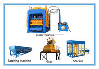Best selling in alibaba QT4-15 foam generator for foam concrete price brick block machine in pakistan
