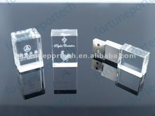 2012 top sales crystal 2gb/4gb usb flash drive/memory stick for holiday gift