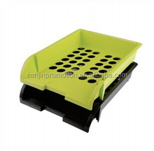 High quality stack multi-layers plastic a4 cute file box