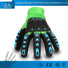 High impact gloves for cut resistant and oil-field
