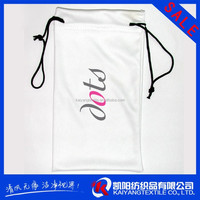 promotional eyeglasses smartphone cleaning drawstring microfiber pouch