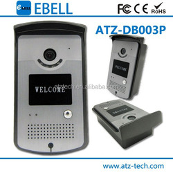 smart home wifi IP video door bell with Monitor, intercom, unlock function remote control by smart phone for multi-department