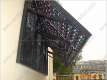 Fixed price 2015 Hai Sheng P6 Front Access Maintain Outdoor Led Display/save space and cost/High flatness