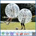 Brinquedo inflável tipo e tipo de esportes!!! Bola bolha para o futebol, homem de futebol da bolha terno, bola para carros