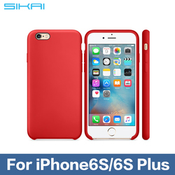 Candy Color Silicone TPU Gel Soft Case For Apple iPhone6S Rubber Material Soft Back Cover For iPhone6s Shockproof Phone Bags