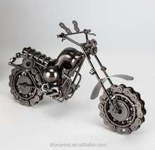 2016 hot funny creative unique metal motorcycle gifts,metal crafts home decoration(PR318)