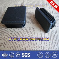 Customized plastic rectangular tube inserts for furniture in China