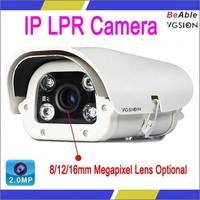 CMOS Image Sensor 2.0 Megapixel For Indoor and Outdoor Use Waterproof IP LPR Camera