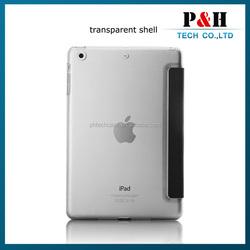 For mini iPad Smart cover For iPad Mini smart cover leather case