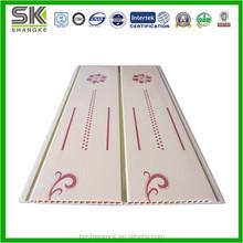 Blanco Hojas-High Glossy PVC de techo y paneles de pared