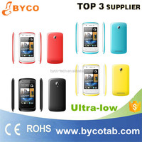 3.5inch 3G WCDMA support whatsapp Android 4.4 cheap mobile phone