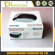 2015 Newest and Creativ OEM mini wireless bluetooth speaker with led light