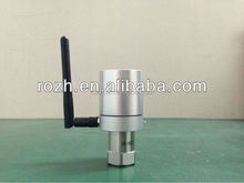 Wireless vibration sensor, wireless acceleration sensor for monitoring machine vibration