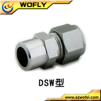 tube union pipe connection stainless steel pipe socket weld union