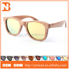 New Style Handcrafted From Natural Wood Sunglasses Wholesale