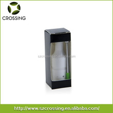 New generation Crossing ceramic heating element no wick donut atomizer wax vaporizer with 2 airflow holes, accept OEM.