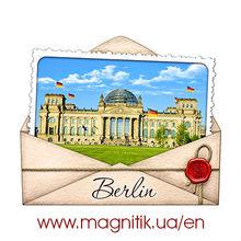 Germany: Munich, Hamburg, Berlin, Dresden, Frankfurt Ceramic fridge polystone magnets - personalized!