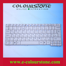 Hot selling laptop keyboard for ACER 2920Z RU WHITE 2920 6231 6252 6290 6291 6292