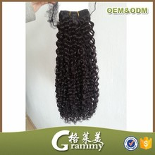 Hair salon products wholesale top quality 8a grade 32 inch curly hair extensions