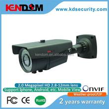 Kendom Star Product 2.8-12MM Lens Varifocal IP Camera H.264 Waterproof ip camera poe cctv camera
