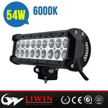 "Hotest liwin offroad firefly light bar 54W 9"" for vehicles ATV SUV headlamp car light"