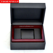 leather single case watch