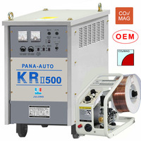 co2 mig welder with thyristor control KRII-500 MIG panasonic welding machine welder