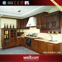 Standard Design Practical OEM Technical Teak Wood Cupboard