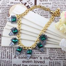 La mejor compra de la moda americana popular de nuevo cristal estrella joyería de la declaración