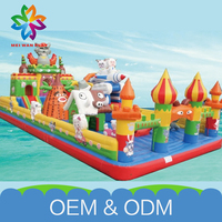 Best Quality Funny Fun Playground Equipment New Product Free Customize Inflatable Castle Toys