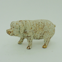 Resin Rusty Finish Animal Pig Wholesale Old Fashion Home Decor