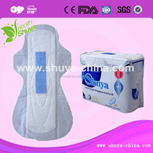 Sanitary factory Chitin fiber sanitary pad for ladies