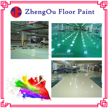 Professional Floor Paint Manufacturer-Concrete Penetrant and Tempering Oil Epoxy Floor Coating / Painting