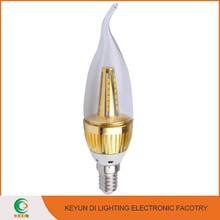 OEM ODM Factory 2700K-6500K 5W e14 led candle light