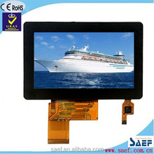 "4.3"" inch TFT 480x272 with capacitive touch screen TFT LCD screen"