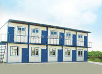 beijing the latest container office design 40ft container home modern prefabricated container