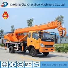 10 ton lifting mini conventional truck crane for sale