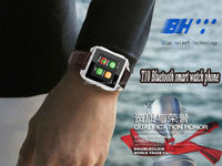 OLED Display Type and Flip Design smart bluetooth watch with bracelet