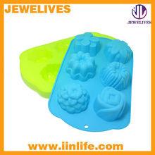 soporte de la torta del silicón multi-forma