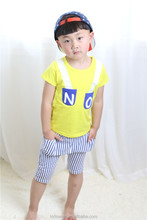 2015 wholesale price modern designer kids garment baby boy outfits for 4 years old