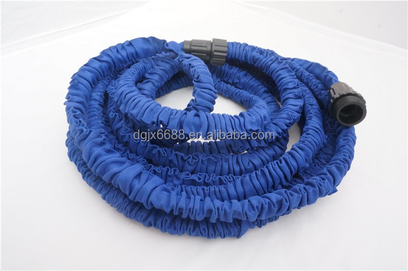 Latex 50ft Expandable Hose For Garden Retractable Pipe As