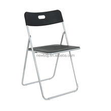 Cheap plastic convenient folding foldable chair both outdoor indoor