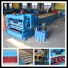 color roof tile making machine price for sale, glazed iron roof sheet metal making machine