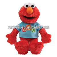 Plush tickle me elmo toys