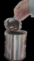 Steel drum liquid bitumen apply in road construction