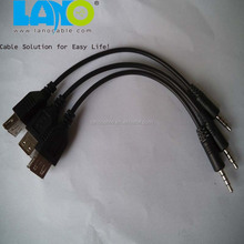 Cheap and quality usb female to audio jack male