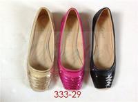2015 brand-new products laguna elegant flat shoes