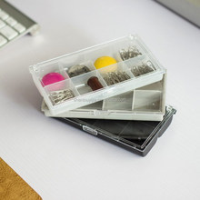 Mini 8 compartments Plastic storage box with dividers