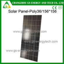 Stock on sale high quality hot selling poly crystalline 150 watt solar panel
