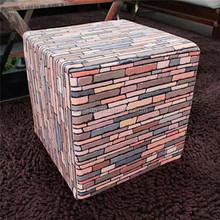 Living stones indoor bean bag floor throw pillow cube foam cushion